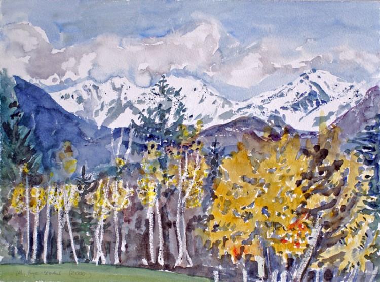 Südtiroler Herbst (Weiß- und Schwarzhorn)