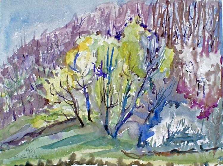 Frühling am Waldrand (Kaiserstuhl)