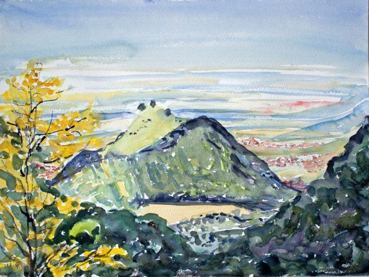 Randecker Maar (Schwäbische Alb) August 1997