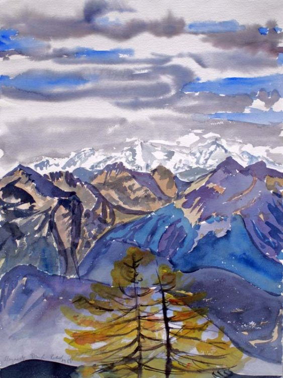 Klare Herbstsicht (Südtirol), Oktober 1988