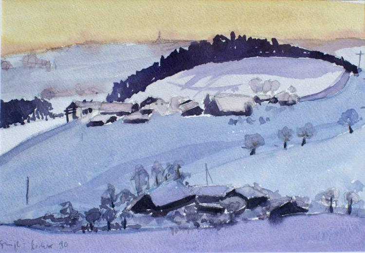 Winter im Schwarzwald, 1990